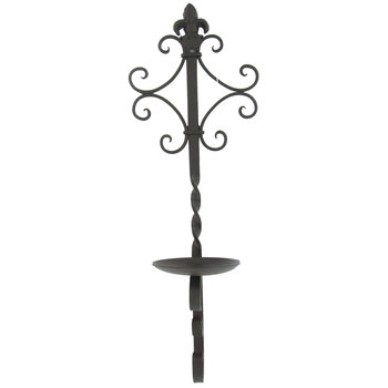 Scroll Metal Wall Sconce